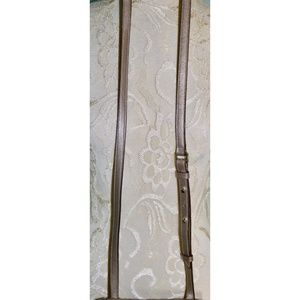 Cole Haan Bags - Cole Haan Metallic Silver Leather Crossbody Bag